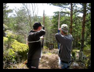 Concours de Tir à l'arc au Bois du Mont.
