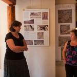 Visite de Sophie Pantel à Javols