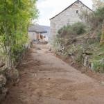 Chemin en haut du village.