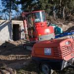 Travaux au réservoir d'eau