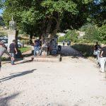 Fête du 15 août : Concours de pétanque sur le terrain du site archéologique.