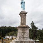 La statue rénovée.