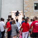 Fête du 15 août : Le mur des champions.