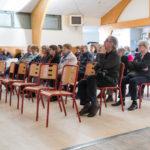 Cérémonie des voeux : Un public attentif...
