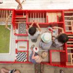 Gabalades 2018 : La domus construite par les enfants.