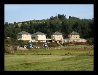 Logements de la Maison familiale - Ecole Forestière de Javols en Lozère