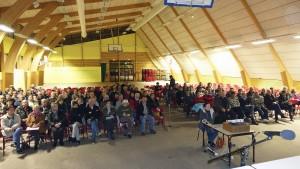 Réunion publique sur la création d'une commune nouvelle