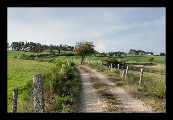 Le PR 17 entre Chabannes et Orbagnac.