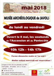 Affiche mai 2018 musee