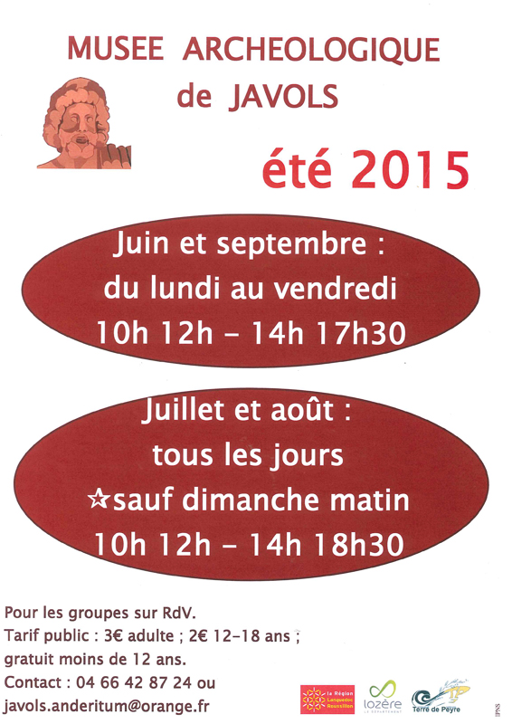 Affiche musee ete 2015