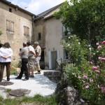 Conseil Municipal de Javols discutant avec les habitants du Cros.