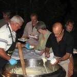 Service des plateaux-repas, 15 août à Javols