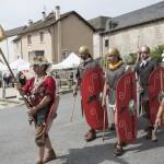 La légion défile lors des Gabalades