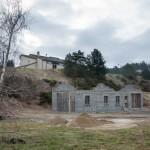 Construction des garages communaux à Javols en Lozère.