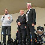 Christian Malavieille, Alain Bertrand et Alain Astruc.