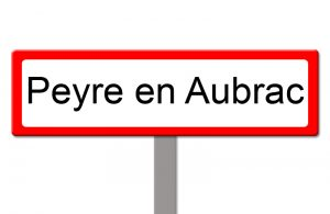 Panneau Peyre en Aubrac