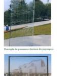 """Exemples de """"panneaux de lecture du paysage"""". Image Navecth Architectes/ Atelier Extra-Muros."""