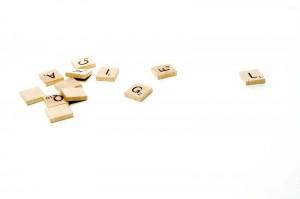 Pièces de Scrabble