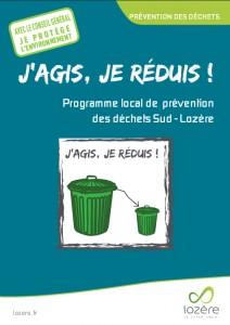 Plaquette Prevention Dechets Conseil General de la Lozère