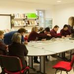 Aprés-midi Scrabble à la Mairie de Javols.