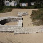 Bassin des thermes restaurée.