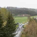 Trèfle Lozérien, motos sur le pont de Javols