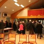 Jaolais à la salles des fêtes, cérémonie des voeux 2014 à Javols.