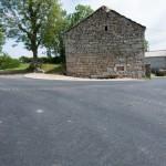 Travaux de voirie à Chabannes, commune de Javols